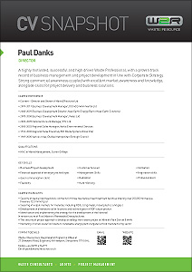 Paul Danks waste management consultant